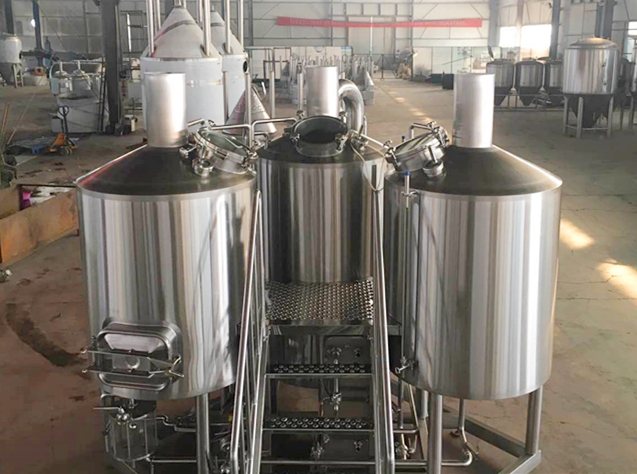 500L Small Brewery Equipment SS316 Glycol Cooling Jacket With Semi Automatic