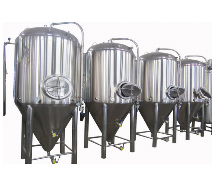 10HL Polished Stainless Steel 304 Cylindro Conical Fermenter With Side Manway