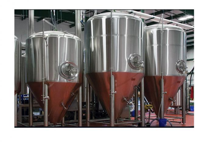 Color Mirror Polish / Steel Small Conical Fermenter For Beer Brewing Kits