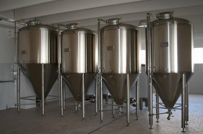 Customized Power Pressure Cylindrical Conical Fermenter Fermentation Tank