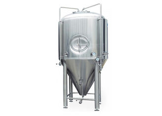 China 7BBL Conical Beer Fermenter Stainless Steel 304 / 316 Material Eco Friendly supplier
