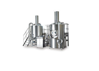 China Stainless Steel 2 Vessel Brewhouse With Automatic Brewing System CE Certification supplier