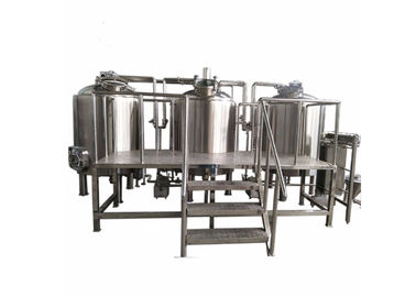 Industrial Brewing Equipment 2500L Large Capacity CE Certification For Home / Pub