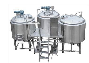 China 304 Stainless Steel 3 Kettle Brew System supplier