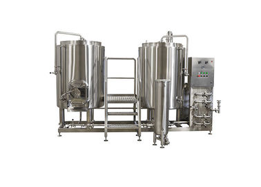 Mirror Polish 220V Small Scale Beer Brewing Equipment Electric Heating For Hotel
