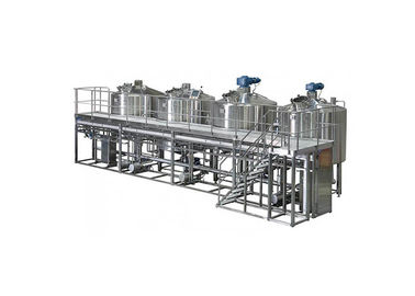 China Sanitary SS304 5000L Large Scale Brewing Equipment With Mirror Polish And 50MM PU Insulation supplier