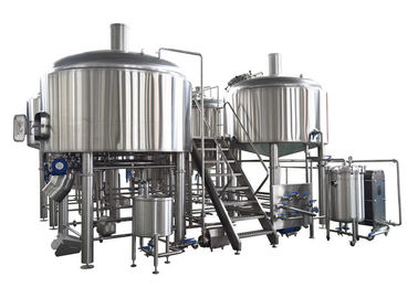 China 35HL 4 BBL Brewing System SS304 Fabrication Steam Heating For Mashing Process supplier