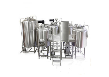 China CE Approved 2000L Large Scale Brewing / Electric Brewery 304 Stainless Steel Material supplier