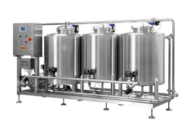 China 500L Integrated CIP Control System SS316 Fabrication For Beer Brewing Process supplier