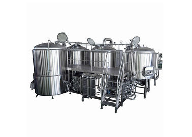 China Beer Brewing System 4 BBL Fermenter  Steam Heating 220V Semi - Auto Controlling supplier