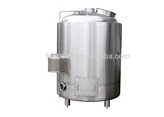 China Electric Heating Hot Liquor Tank 3000L Output Beer Brewing Vessel SS304 Material supplier