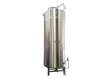 SS316 Fabrication Hot Liquor Tank Electric Temperature Control 8000L Hot Water Supply