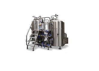 China Sanitary Stainless Steel Beer Tanks / 15BBL Nano Brewery Equipment CE Certification supplier
