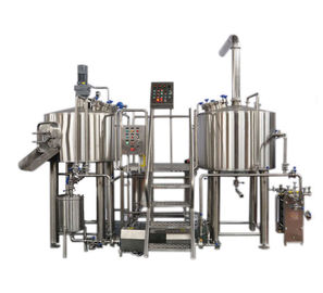 China PLC Control System Pilot Brewing Equipment 6BBL Beer Brewing SS316 Fabrication supplier
