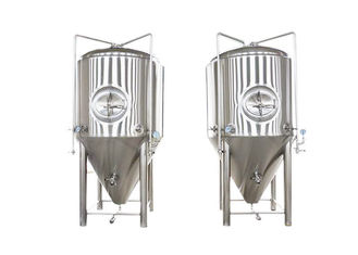 China 1200L Conical Beer Fermenter Fabrication SS304 Automated Beer Brewing System supplier