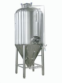 China Brewing Conical Beer Fermenter 500L Microbrewery Tanks SS316 Fabrication 2MM Plate Jacket supplier