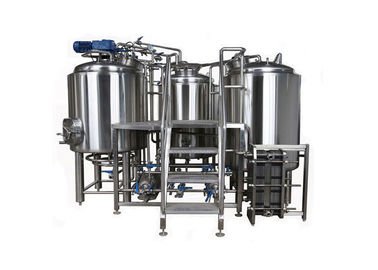 China 7BBL Small Brewery Equipment SUS304 Semi Auto Control System With Steam Heating supplier