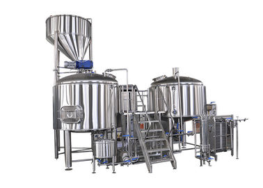 China 30BBL Large Scale Beer Brewing Equipment Automatic Control Electricity Heating supplier