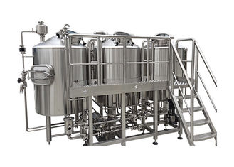 Fabrication SS316 Home Brew Kit 1800L Output Beer Brewing Vessel CIP Cleaning System