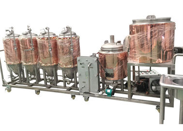 China CE / ISO Certification Small Brewery Equipment 1BBL Semi - Auto Control SUS304 supplier