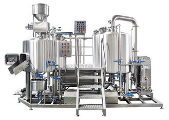 China PLC Control Small Brewery Equipment 3BBL Stainless Steel SUS304 Electric Heating supplier