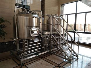 China Manual Control 1000L Small Microbrewery Equipment Micro Brewing Systems Eco Friendly supplier