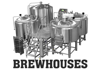 China Electric 30BBL Large Brewing Equipment Mirror Polishing 316 Stainless Steel supplier