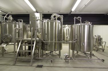 China CE 2000L Large Scale Brewing / Electric Brewery 304 Stainless Material supplier