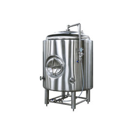 China 1500L Brewing Insulated Hot Liquid Tank Food Grade With Mirror Polished / 50MM PU Insulation supplier