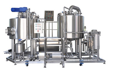 China Micro Beer Brewery 300L 2 Vessel Brewing System Beer Brewing Mash Tun supplier