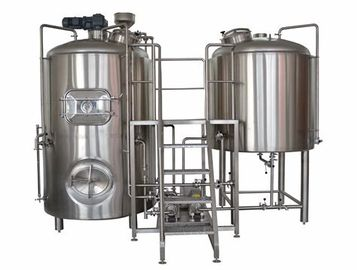 China German Brewing Machine 5BBL 2 Vessel Brewhouse 800L Mash Tun System Mirror SUS supplier