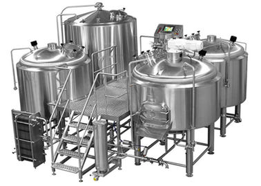 Manual Or Semi Automatic Beer Brew House Mirror Polishing Beer Making Equipment