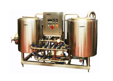 China Sanitary Grade 2 Vessel Brewhouse , Beer Brew House With CE Certification supplier