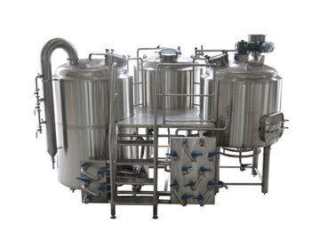 China 10BBL - 30BBL 25% Head Space at Minimum 3 Vessel Brewhouse for Craft Beer Brewing supplier