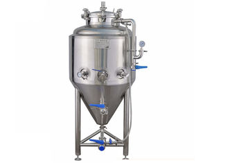 China 50L / 100L Dimple Plate Stainless Conical Fermenter Brewing Kits Customized supplier