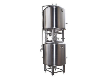 China Vertical Conditioning Bright Beer Tank Store Beer And Add CO2 500L Capacity supplier