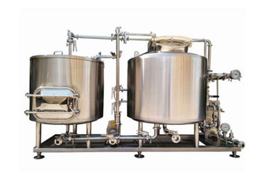 China 200L Customized Power Beer Brewing Equipment / Production Line High Efficiency supplier