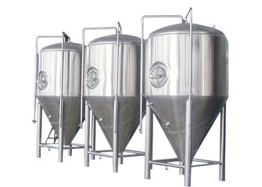 China SUS 304 / 316 Conical Beer Fermenter Drinks Beverage Beer Brewing Parts supplier