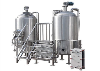 China Customization Of Craft Beer Brewing Equipment , Durable Beer Production Line supplier