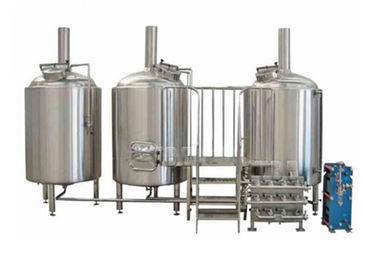 China 100 US Gallon Small Brewery Equipment Beer Making Machine And Brewing Machines supplier