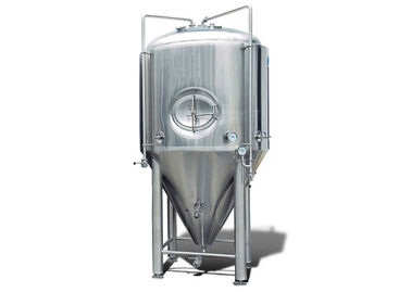 China Beer Brewing Conical Beer Fermenter Beer Fermentation Container Stainless Steel Jacket supplier