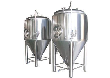 China Stainless Steel Electric Beer Brewing Kettle Conical Beer Fermenter supplier