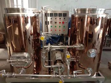 Automatic Control 4BBL Small Brewery Equipment Electricity Heating Eco Friendly