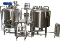 China Customized Design TIG Welding 2 Vessel Brewing System Beer Brewing Machine factory