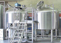 100L 300L 800L Capacity 2 Vessel Brewhouse Heated Mash Tun / Lauter Tun