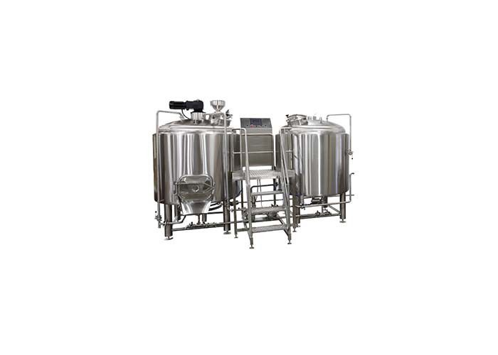 Steam Heating 100l Pilot Brewing Equipment With Glycol