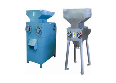 China Adjustable Malt Mill Carbon Steel Two Rollers 1.5KW For Wheat / Grain Crushing factory