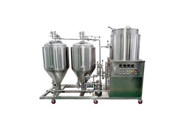 China Fabrication SS304 Stainless Steel Beer Fermentation Tank 50L Manual Panel Controlling distributor