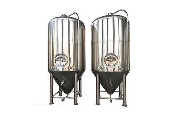 China Sanitary 100L Conical Beer Fermenter Dimple Jacket Cooling For Pub / Hotel distributor