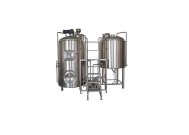 China Available 5BBL Capacity Small Brewery Equipment Manual / Semi Auto Control Panel distributor